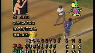 2do Juego Puerto Rico Cuba Semifinal baseball Panamericanos Indianapolis 1987 3 Jorge Luis Valdes - 2do Juego Puerto Rico-Cuba, Semifinal baseball Panamericanos Indianapolis 1987 (3) Jorge Luis Valdes
