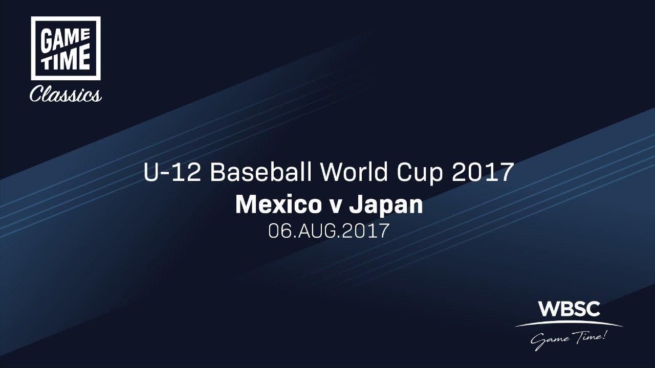 Mexico v Japan U 12 Baseball World Cup 2017 - Mexico v Japan - U-12 Baseball World Cup 2017
