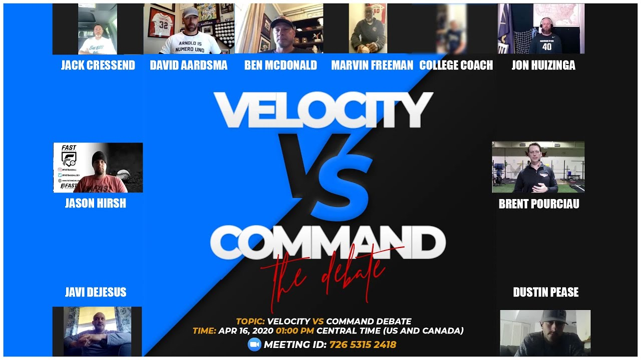 Pitching Velocity VS Command The Great Baseball Debate - Pitching Velocity VS Command | The Great Baseball Debate