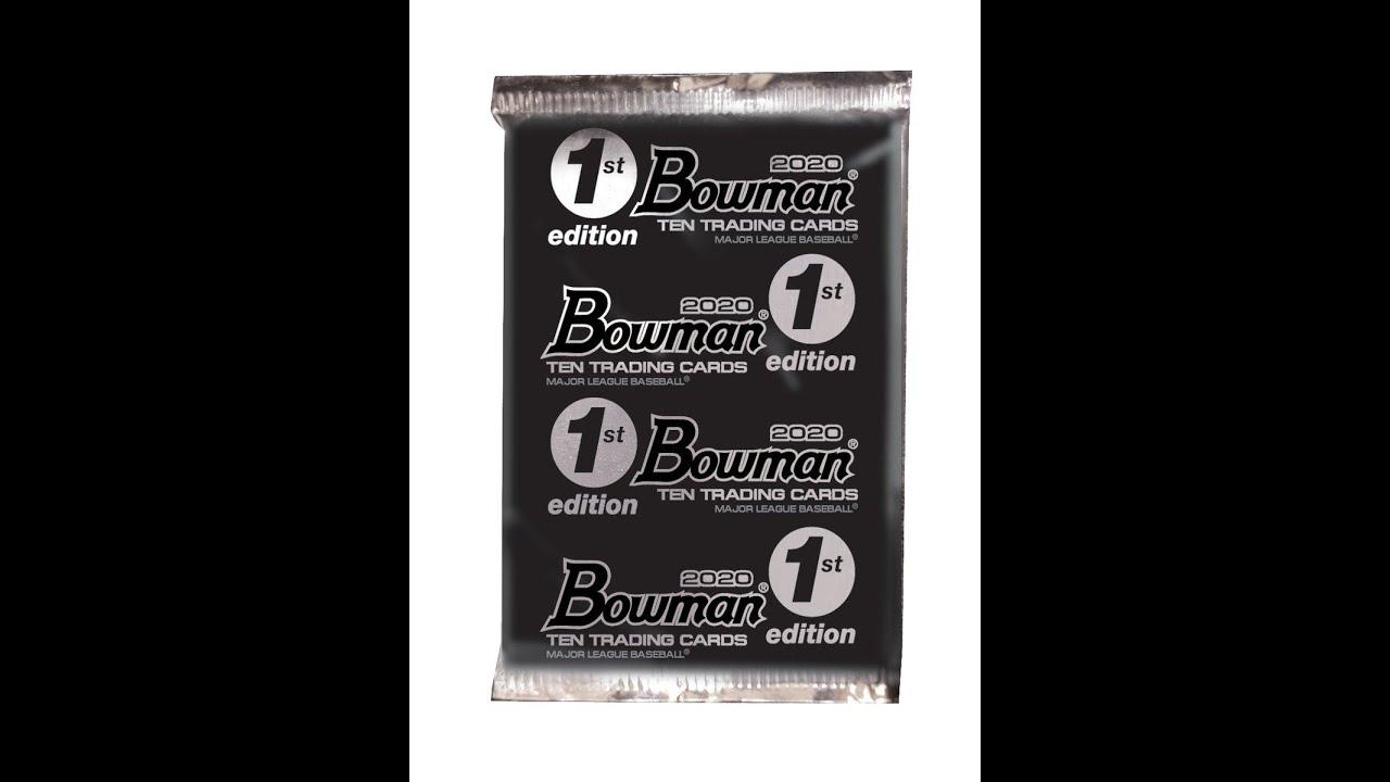 2020 Bowman 1st Edition Baseball - 2020 Bowman 1st Edition Baseball