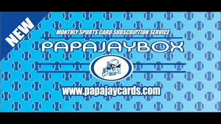 PapaJay Subscription Box Baseball information video. - PapaJay Subscription Box (Baseball) information video.