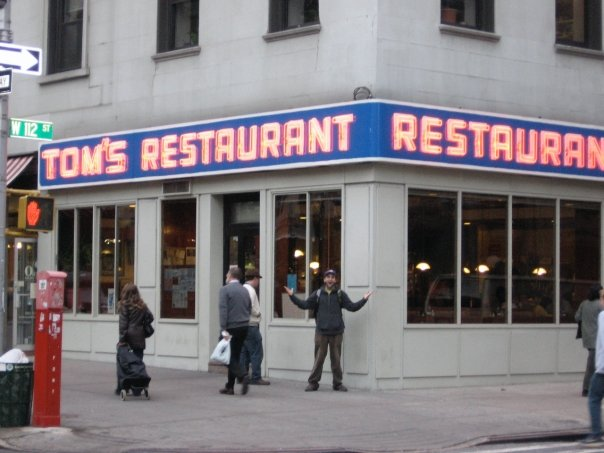 Joey Z rendered speechless by being in the presence of the Seinfeld diner