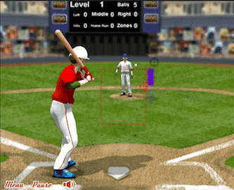 baseball challenge flash game