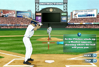 State of play baseball - a free flash baseball game online.