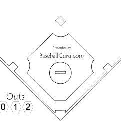 Baseball Field Diagram Printable Layout Infrastructure Visio Free Coloring Pages Of Soccer