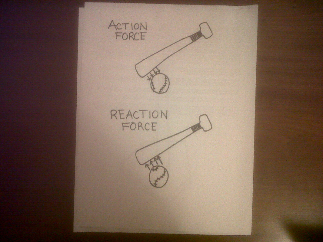 Newton S Third Law Action Reaction Forces