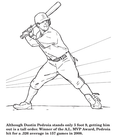 A Review of Hawk's Nest Publishing's Red Sox Coloring