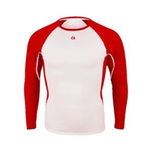 Red Warrior Adult Long Sleeve Shirt