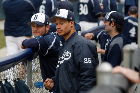 Butler baseball at Bulldog Park versus Taylor University March 8, 2011