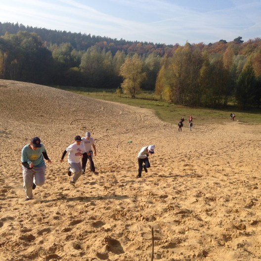 Athletik Training - Dune Sprints