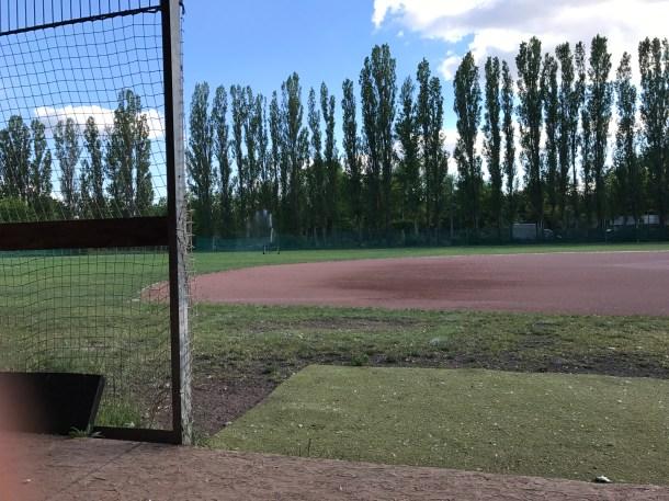 Roadrunners Ballpark Dugoutview