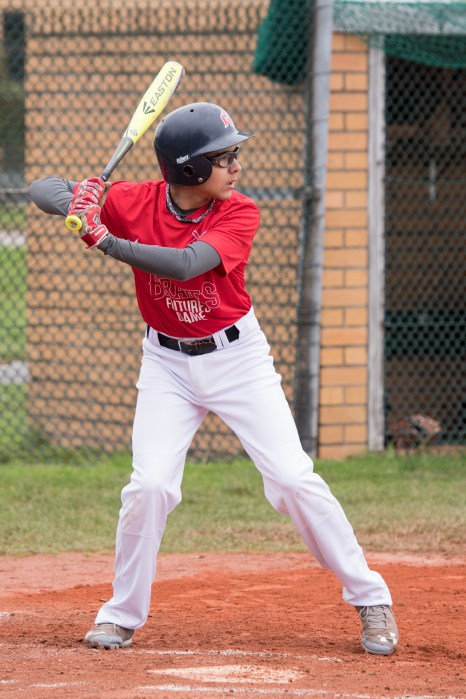 Jasper - Batting - Open stance - Ready for the pitch