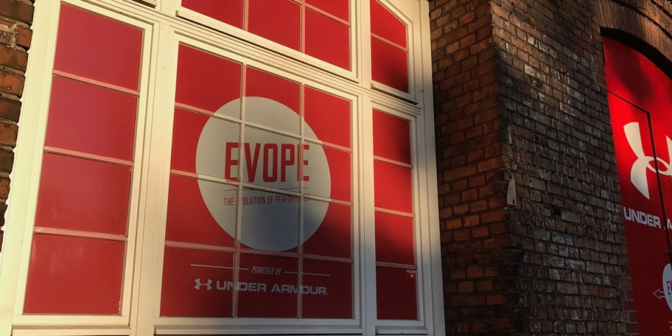 So sieht der Eingang von Evope aus