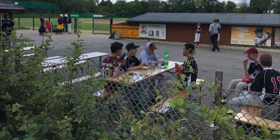 Essen und Baseball - Sport und Wachstum