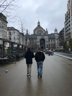 Downtown Antwerp