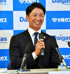 阪神・近本光司に川藤幸三がインタビュー プロ野球選手の生活を説く 2019年2月7日