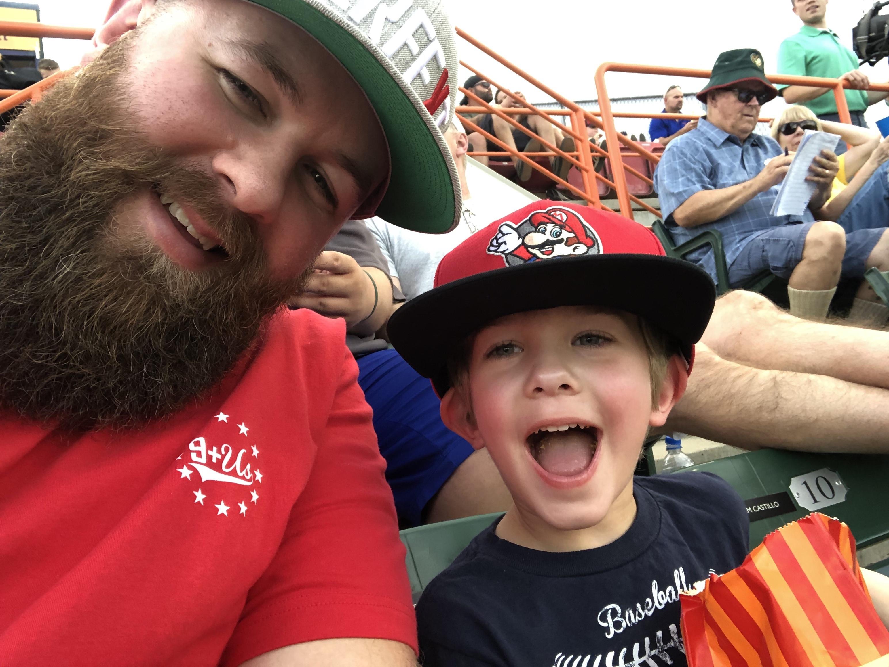 A Night at a Ballgame: Boise Hawks