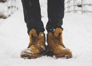 winter camping shoes