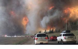 On May 3, 2016 a wildfire in Ft McMurray, British Columbia forced the largest evacuation in Alberta's history.  The timing and magnitude are one of many possible to illustrate the increasingly dangerous fire environment.