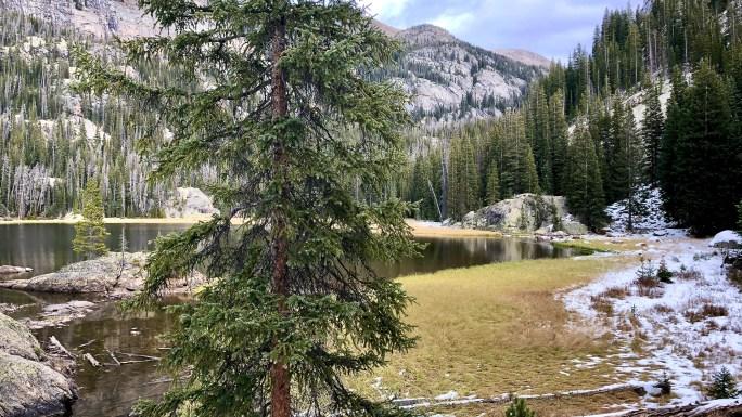 Lone Pine Lake - Rocky Mountain National Park