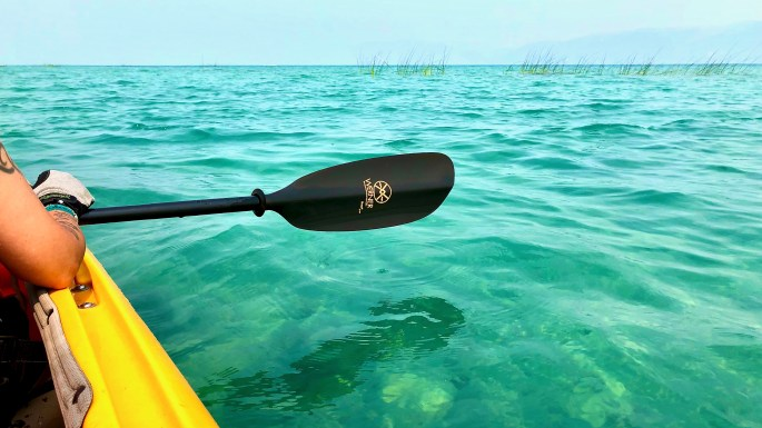 Paddling into the Blue, Bear Lake, known as the Caribbean of the Rockies