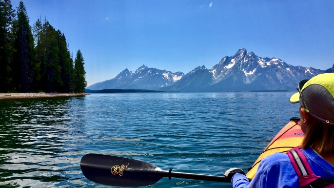 Jackson Lake Adventures, Grand Teton National Park.