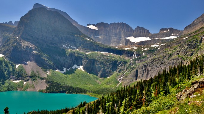 Great Montana Adventure, Grinnell Lake, Glacier National Park