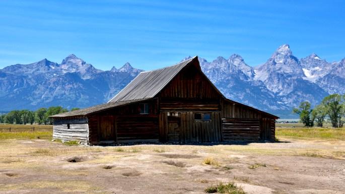 Mormon Row Historic District, T.A. Moulton Barn, Grand Teton National Park