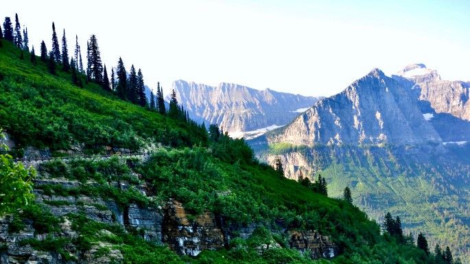 Great Montana Adventure, Going to the Sun Road, Glacier National Park