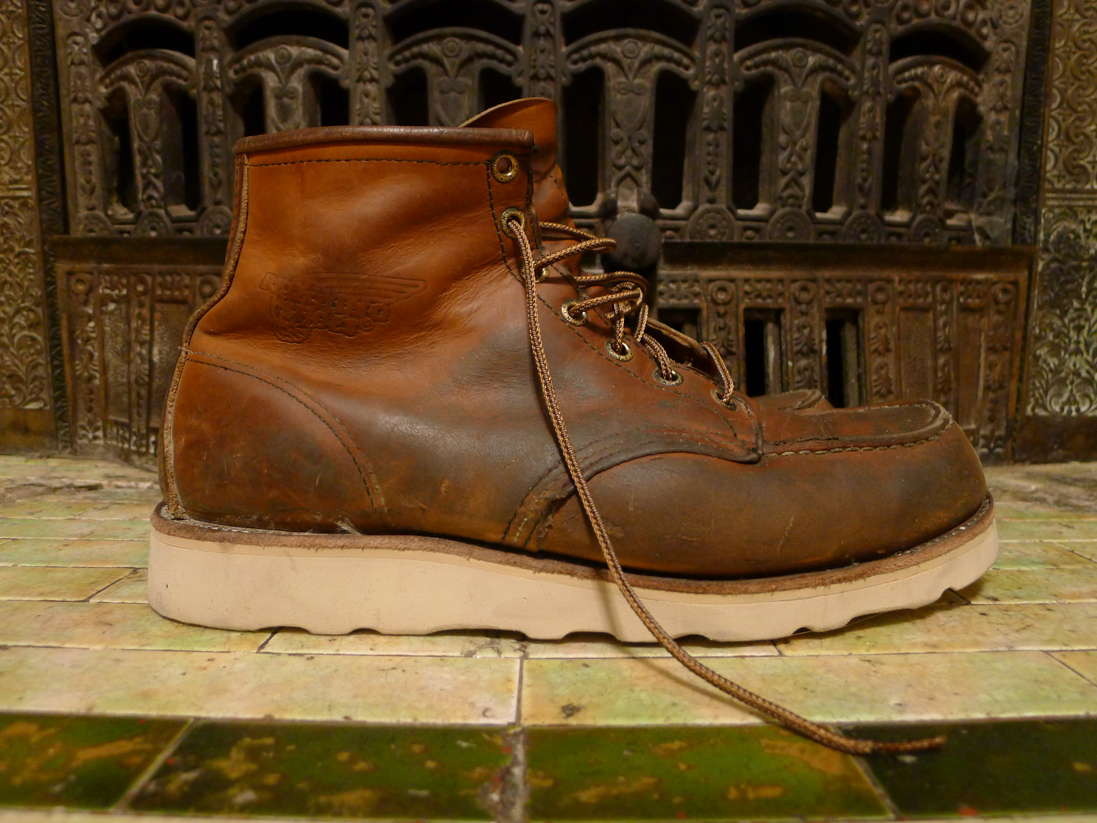 resoled redwing 875 6