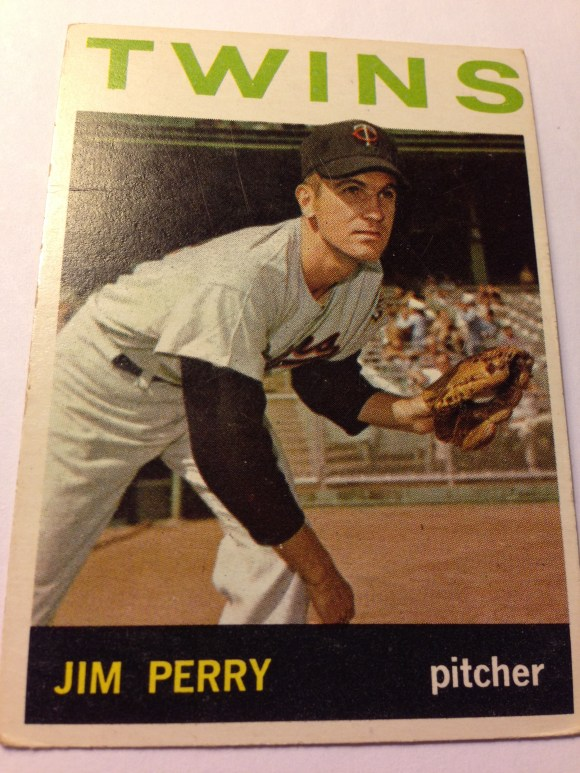 1964 Topps #34 Jim Perry