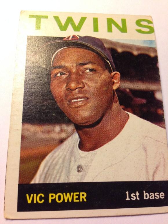 1964 Topps #355 Vic Power