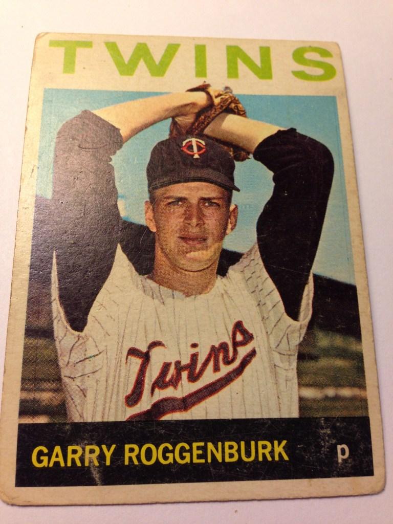 1964 Topps #258 Garry Roggenburk