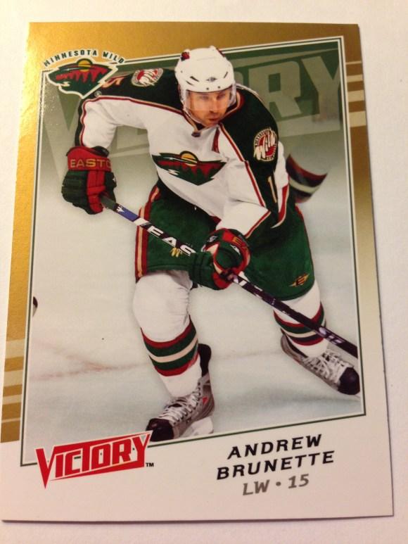2008-09 Upper Deck Victory Gold #273 Andrew Brunette