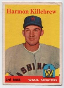 1958 Topps #288 Harmon Killebrew