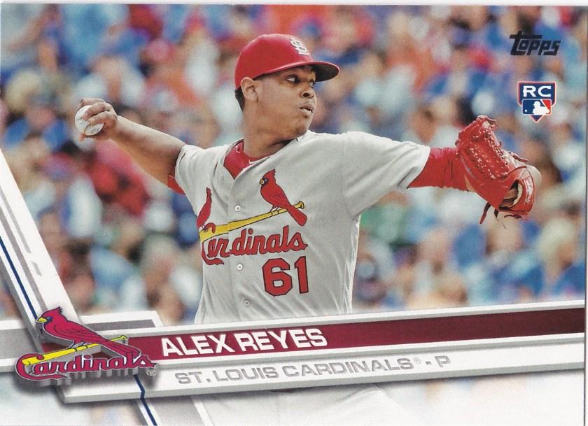 2017 Topps Alex Reyes RC