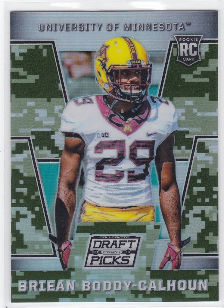 2016 Panini Prizm Collegiate Draft Picks Camo Prizms /199 Briean Boddy-Calhoun
