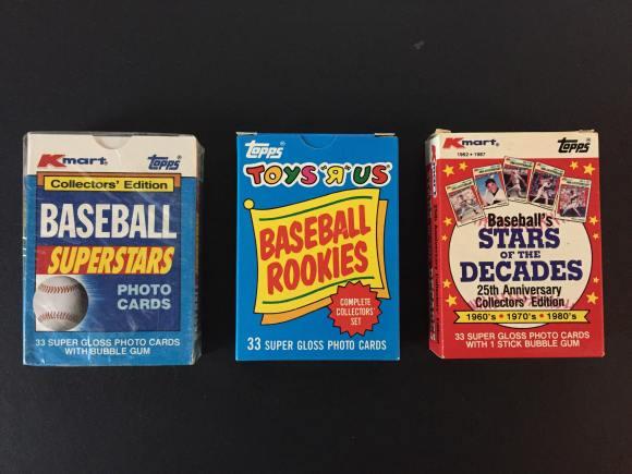 1980's oddball sets