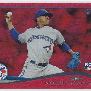 2014 Topps Update Red Sparkle Marcus Stroman RC