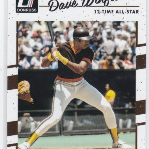 2017 Panini Donruss Short Print Dave Winfield