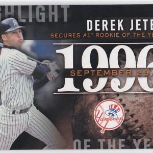 2015 Topps Highlight of the Year Derek Jeter