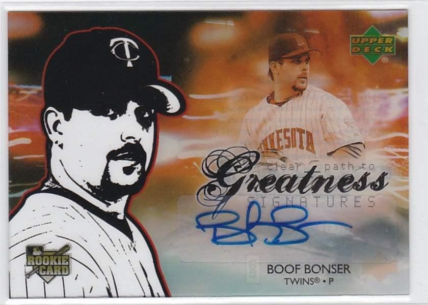 2006 Upper Deck Future Stars Autograph Boof Bonser