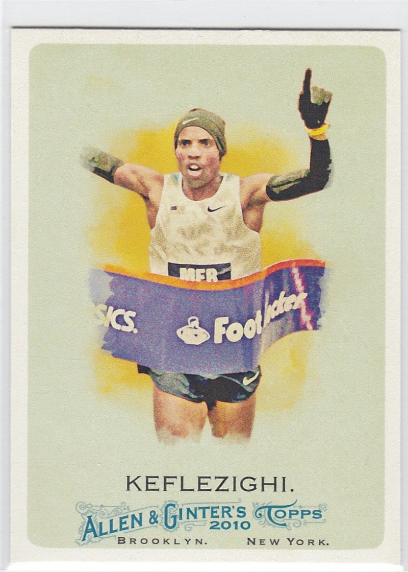 2010 Topps Allen & Ginter's Meb Keflezighi