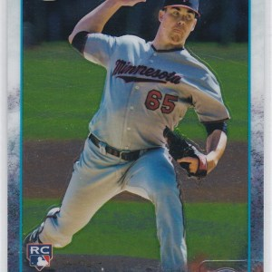 2015 Topps Chrome Trevor May RC