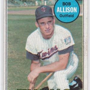 1969 Topps Bob Allison