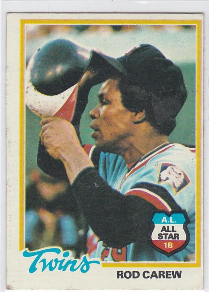1978 Topps Rod Carew