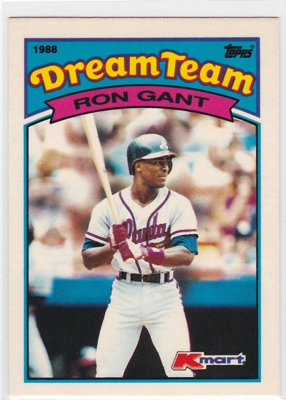 1989 K-Mart Dream Team Ron Gant