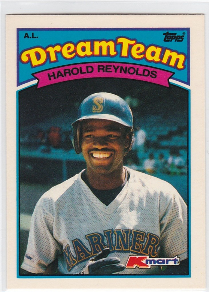 1989 K-Mart Dream Team Harold Reynolds