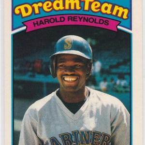 1989 K-Mart Dream Team Harold Reynolds
