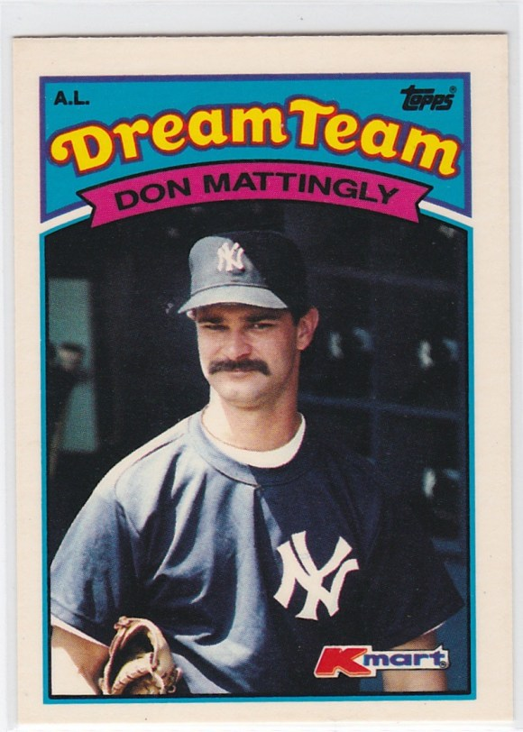 1989 K-Mart Dream Team Don Mattingly